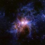 Les environs poussiéreux d'Eta Carinae