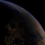 L'Europe vue de nuit