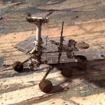 Un robot de synthèse sur Mars