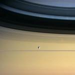 Une année autour de Saturne