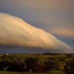 Un nuage roulant sur le Missouri
