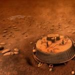 Vue d'artiste de Huygens sur Titan