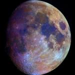 La couleur de la Lune