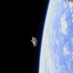 SuitSat-1, un scaphandre à la dérive
