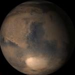 Printemps boréal sur Mars