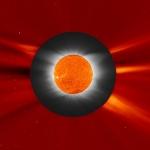 Soho et l'éclipse de Soleil