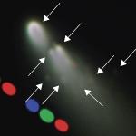 La comète en désagrégation Schwassmann-Wachmann 3 approche