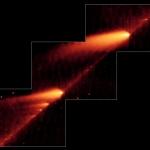 Comète en désintégration -