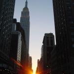 Coucher de Soleil à Manhattan