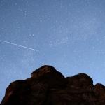 Poussière de comète au-dessus du Colorado