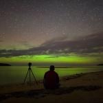 Aurore Verte sur le Lac Supérieur