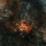 La région de formation d'étoiles NGC 6357