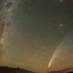 La comète MacNaught au-dessus de la Nouvelle Zélande
