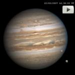 Jupiter et ses lunes font leur cinéma