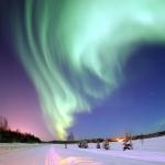 Aurore polaire au-dessus de l%u2019Alaska