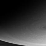 Saturne vue d'en dessous