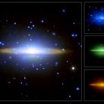 La Galaxie du Sombrero balaye le spectre