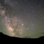 Jupiter, Vesta et la Voie Lactée