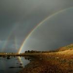 Six Arcs-en-ciel au dessus de la Norvège