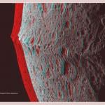la chaîne montagneuse équatoriale de Japet en 3D