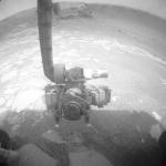 À l'intérieur du cratère Victoria sur Mars
