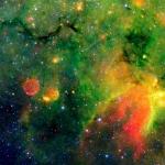 Une région de formation d'étoiles dans notre galaxie