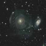 La galaxie NGC 474, mixeur cosmique
