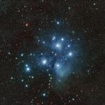 M45, l'amas des Pléiades