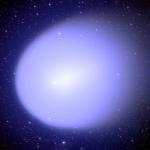 La comète Holmes dans toute son extension
