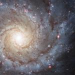 M 74, la parfaite spirale