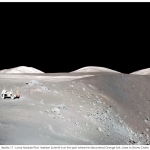 Apollo 17 et le panorama du cratère Shorty