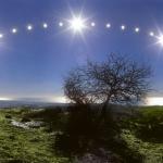 La mer Tyrrhénienne et le solstice de décembre