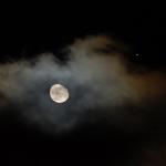 La Lune et Mars ce soir