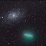 Ne pas confondre comète et galaxie