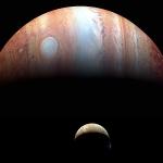 Io et Jupiter vues par New Horizons