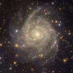 La galaxie cachée IC 342 vue de l'observatoire de Kitt Peak