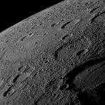 L'horizon de Mercure vu par Messenger