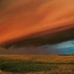 Nuage tabulaire au-dessus du Saskatchewan
