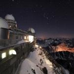Nuit d'hiver au Pic du Midi