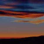 Mercure au-dessus de l'horizon