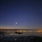 Vénus et Jupiter au petit matin