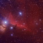 La nébuleuse de la Tête de Cheval d'Orion