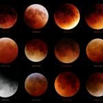 Douze éclipses de Lune