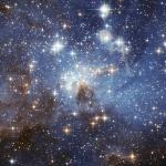 La région de formation d'étoiles LH 95