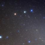 Mars et les étoiles