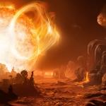 Périlleux lever de Soleil sur Gliese 876d