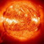 Protubérance solaire tourmentée