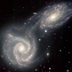 Spirales en collision