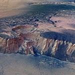 Les falaises d'Echus Chasma