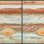 Quand les taches de Jupiter entrent en collision